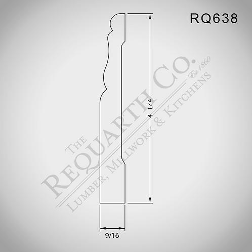 RQ638 Base 9/16 x 4-1/4