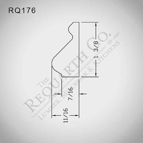 RQ176 Base Cap 11/16 x 1-3/8