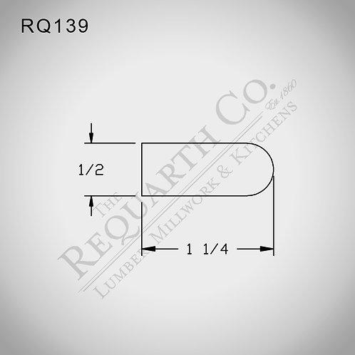 RQ139 Bullnose 1/2 x 1-1/4