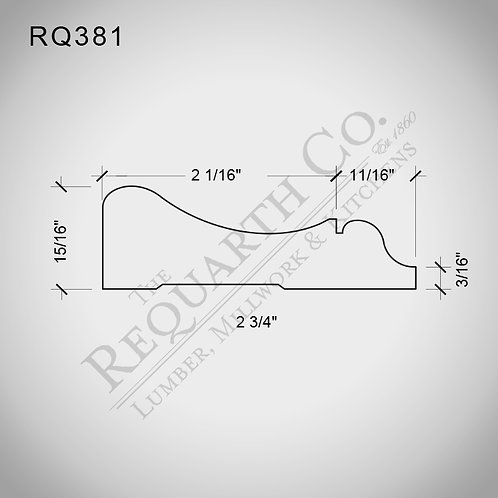 RQ381 Casing 15/16 x 2-3/4