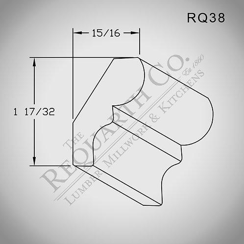 RQ38 Bed Mould 9/16 x 1-25/32
