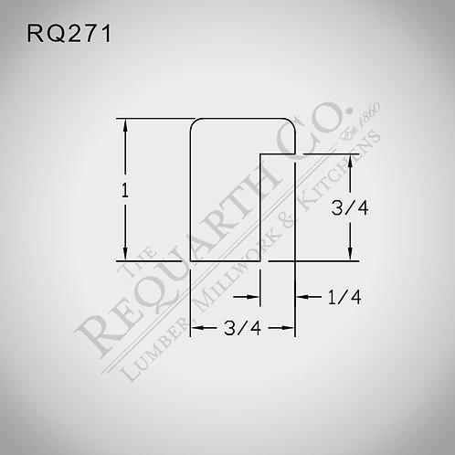 RQ271 Backband 3/4 x 1