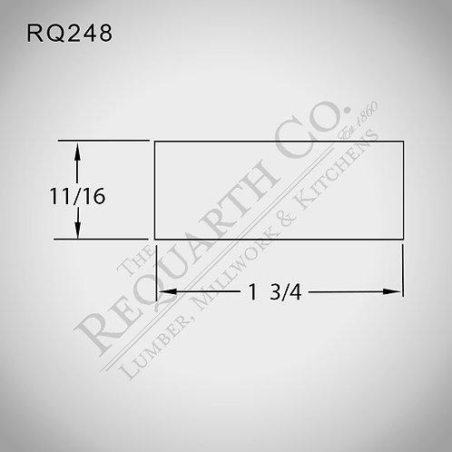 RQ248 Screen Stock 11/16 x 1-3/4