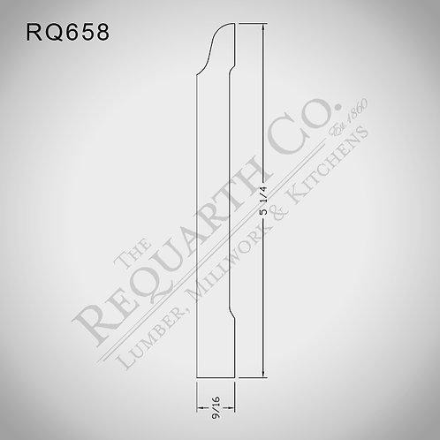 RQ658 Base 9/16 x 5-1/4