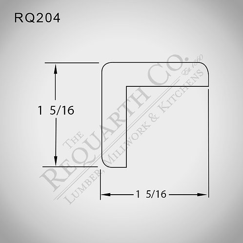 RQ204 Outside Corner 1-5/16 x 1-5/16