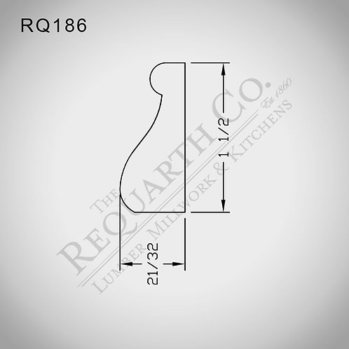 RQ186 Base Cap 21/23 x 1-1/2