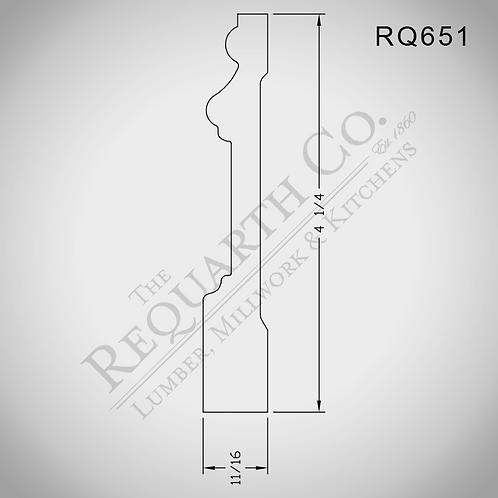 RQ651 Base 11/16 x 4-1/4