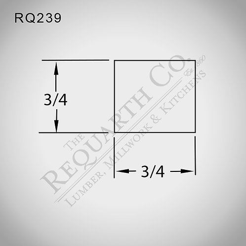 RQ239 Parting Stop 3/4 x 3/4