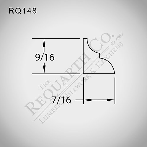 RQ148 Glass Bead 7/16 x 9/16