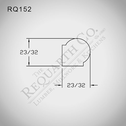 RQ152 Bead 23/32 x 23/32