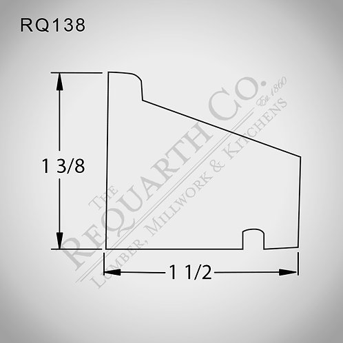 RQ138 Water Table 3/8 x3/4