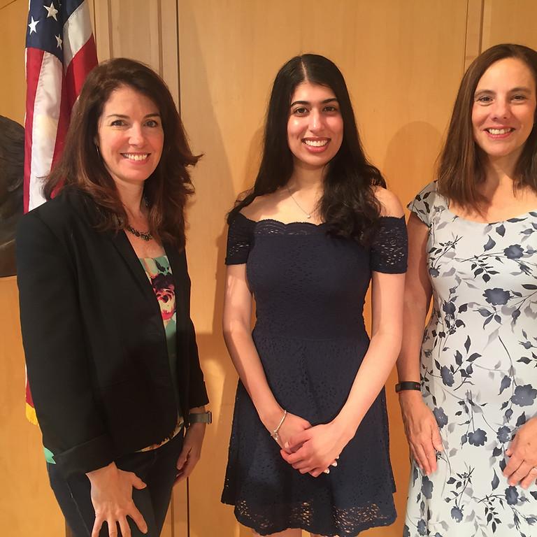 Award the 2020 Elizabeth Sternad Scholarship at the WHS Awards Ceremony