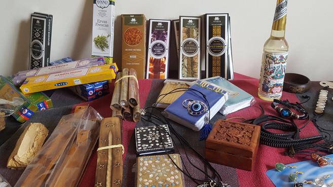Incensos, Aromas, Terapias Especiais