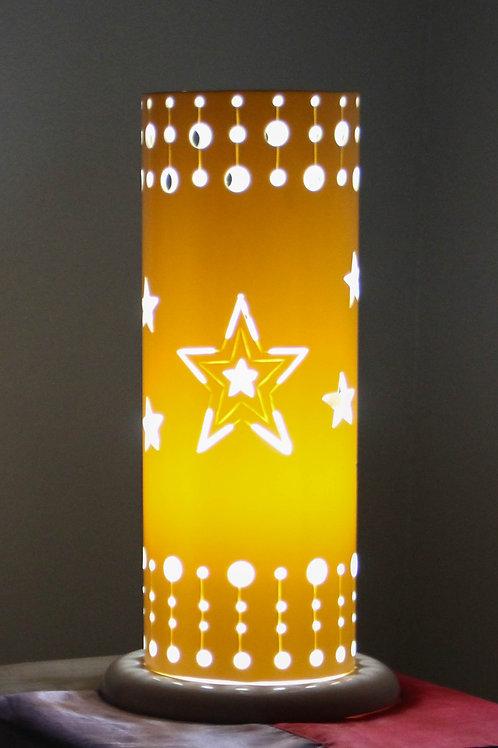 Luminária Artesanal Noite de Estrelas