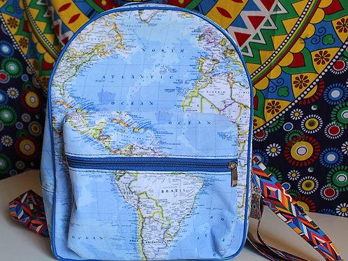 Mochila Mapa Mundi