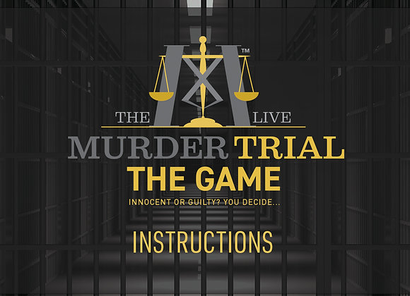 The Murder Trial Game