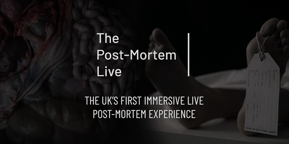 THE POST MORTEM LIVE EDINBURGH SOLD OUT