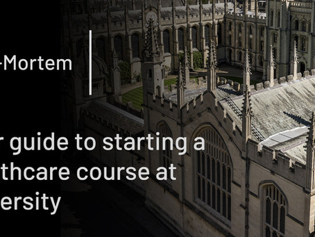Your guide to starting a healthcare course at university