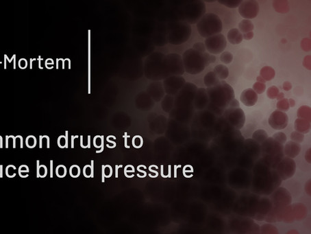 Common drugs to reduce blood pressure
