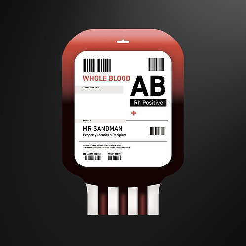 Blood Bag - Hot Water Bottle Cover