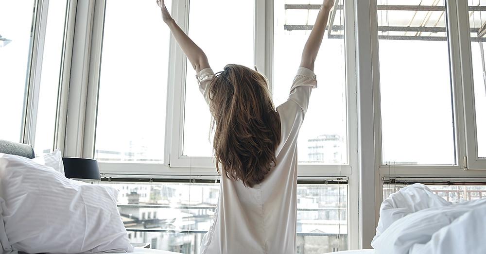 waking up, mood, morning, sunrise, health, depression