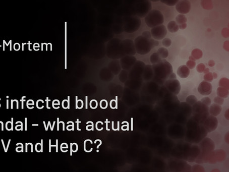 NHS infected blood scandal - what actual is HIV and Hep C?
