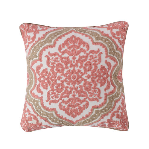 SPRUCE CORAL TAUPE PILLOW