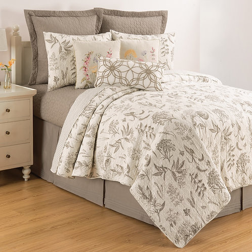 LOUISA CLAY QUILT SET
