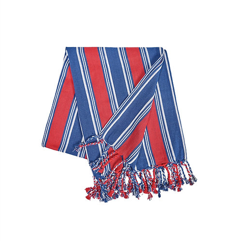 GIDEON STRIPE AMERICANA THROW