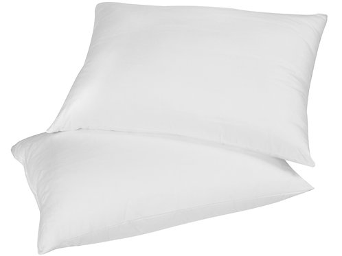 "SOFT 14""X18"" Travel Size Micro Down Pillow"