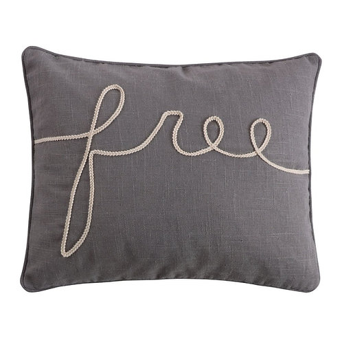 "TREVINO ""FREE"" PILLOW"