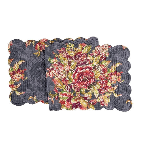 REGINA QUILTED TABLE RUNNER