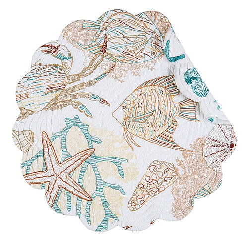 KEY BISCAYNE QUILTED PLACEMAT