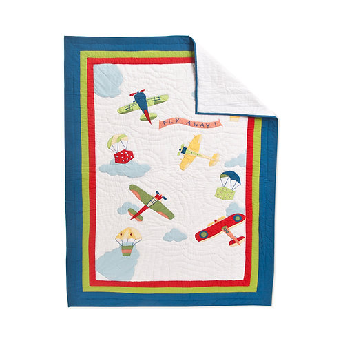 FLY AWAY QUILT, BABY