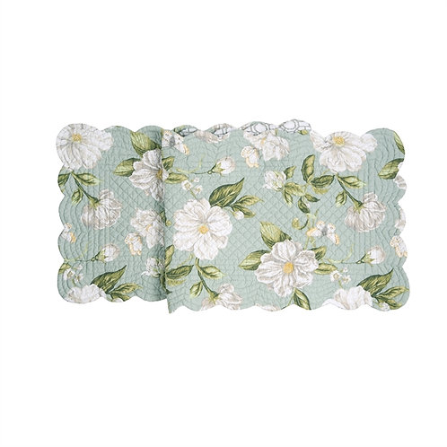 MAGNOLIA GARDEN QUILTED TABLE RUNNER