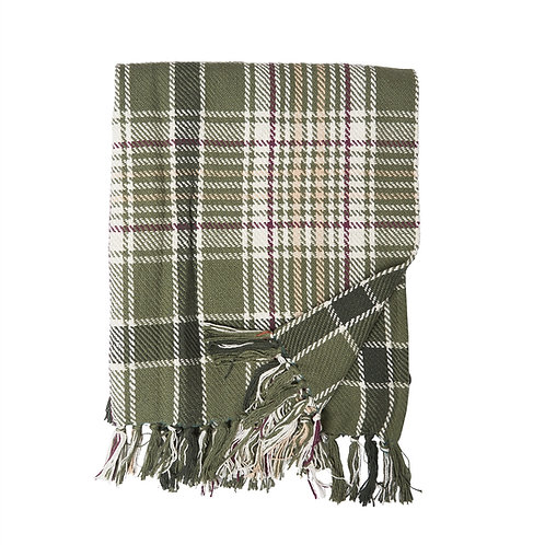 DAWSON PLAID WOVEN THROW