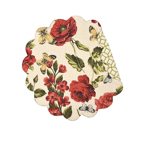 NINA QUILTED PLACEMAT (ROUND OR RECTANGLE)