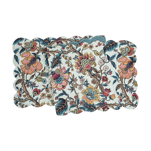 TANSY QUILTED TABLE RUNNER