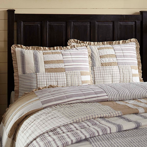 GRACE QUILTED SHAM