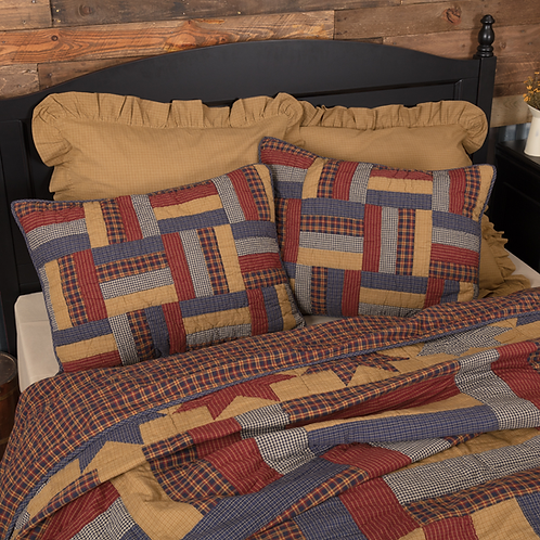 KINDRED STARS & BARS QUILTED SHAM