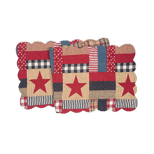 BENNINGTON QUILTED TABLE RUNNER