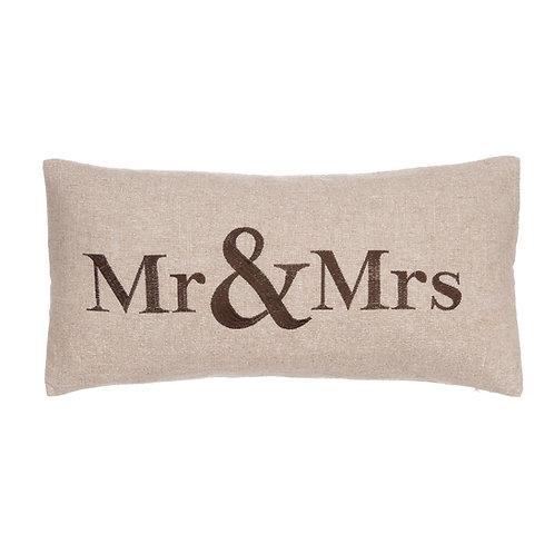 "VERONA ""MR. & MRS"" PILLOW"