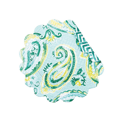 JADE QUILTED PLACEMAT