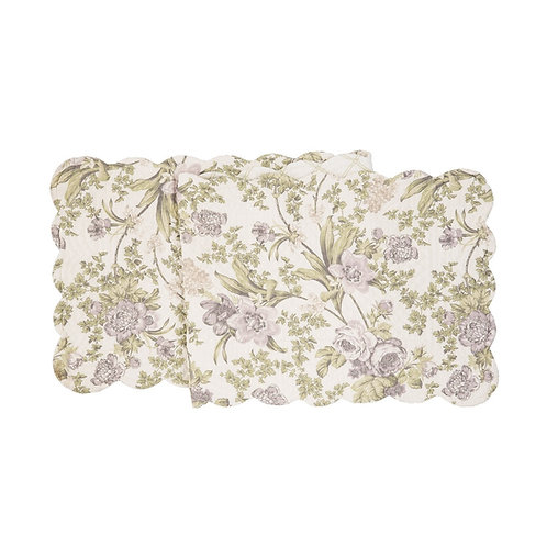 GRACE QUILTED TABLE RUNNER