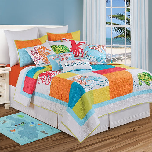 TROPIC ESCAPE QUILT
