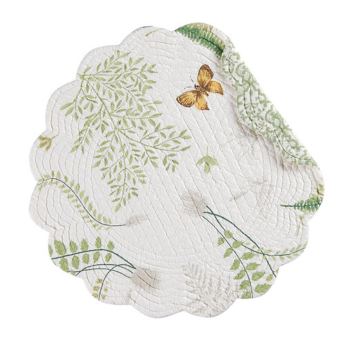 ALTHEA QUILTED PLACEMAT (ROUND OR RECTANGLE)
