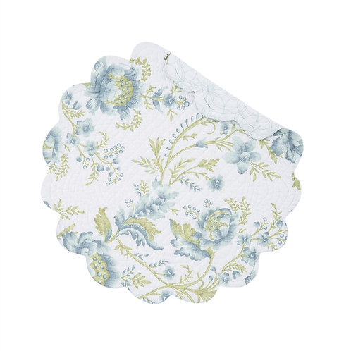 OPAL SKY QUILTED PLACEMAT (ROUND OR RECTANGLE)