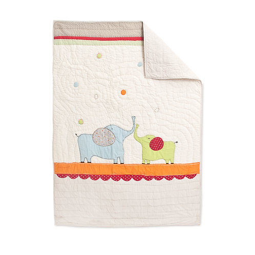 CIRCUS QUILT, BABY