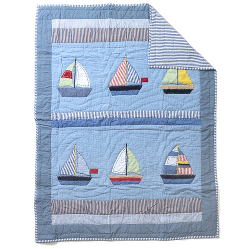SAIL AWAY QUILT, BABY