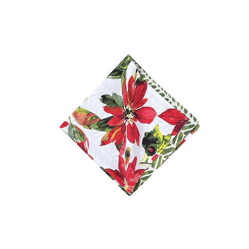 POINSETTIA BERRIES NAPKIN